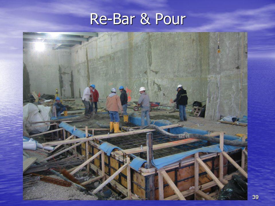 Re-Bar & Pour SOUNDOWN CORPORATION