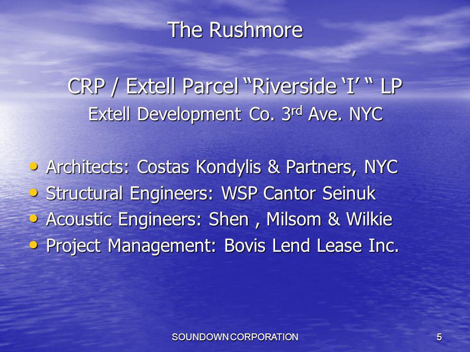 CRP / Extell Parcel Riverside 'I' LP