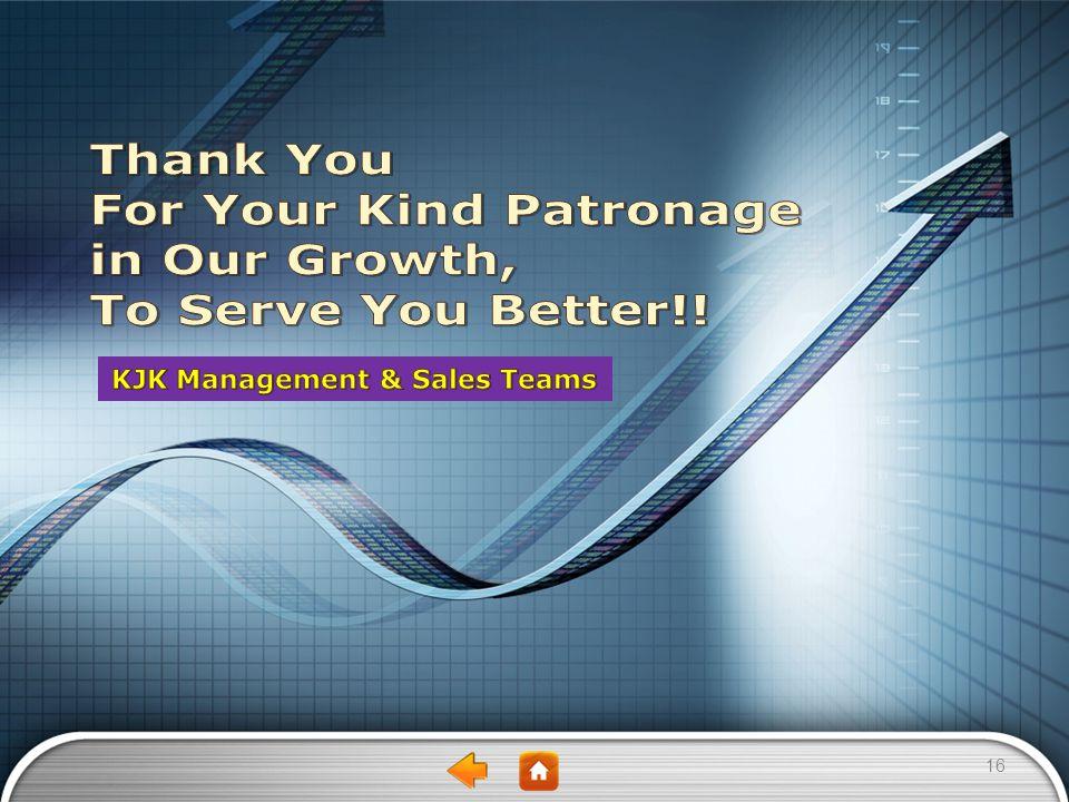 KJK Management & Sales Teams