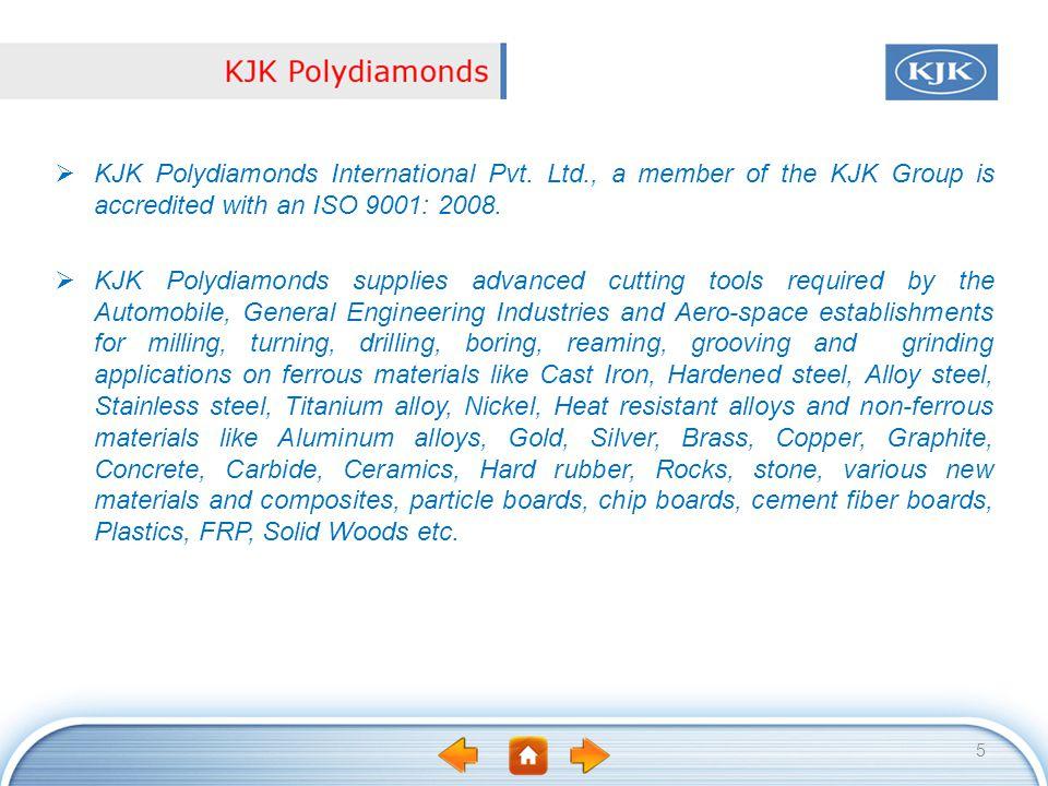 KJK Polydiamonds International Pvt. Ltd