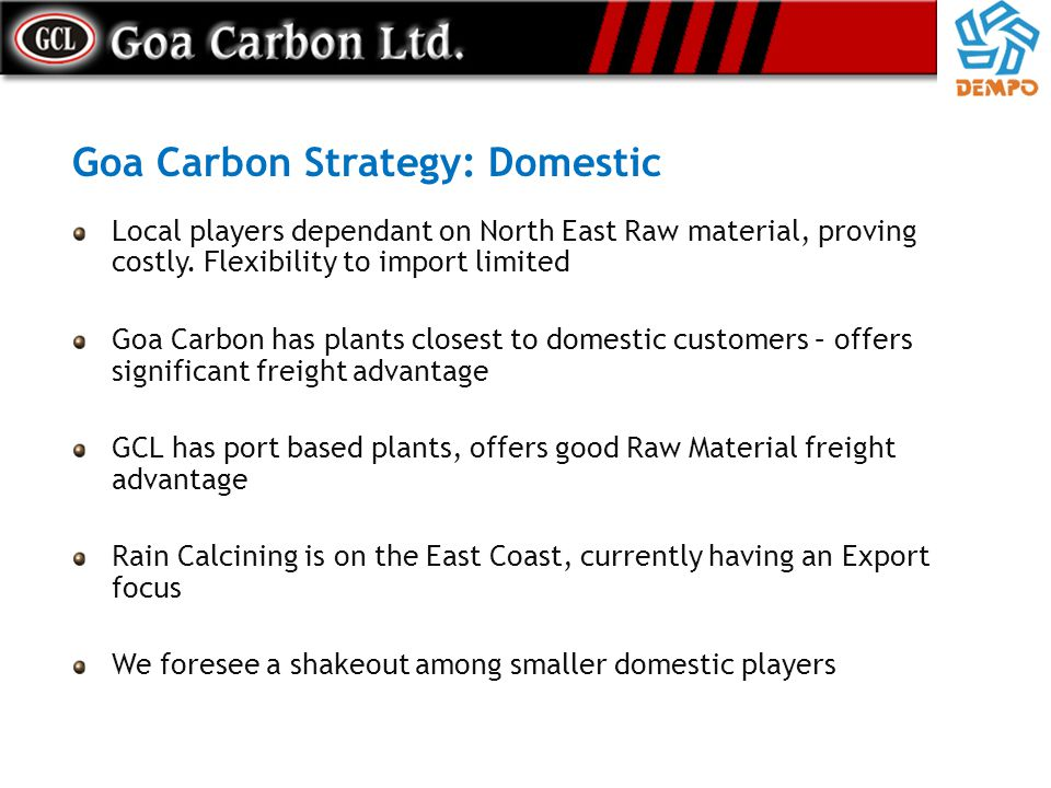 Goa Carbon Strategy: Domestic