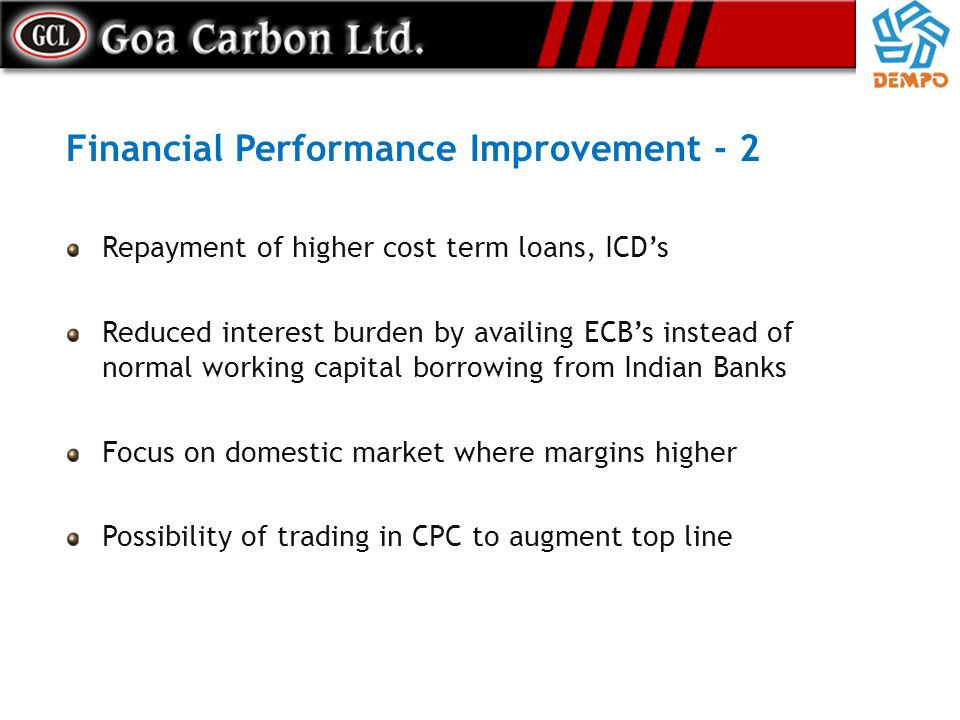 Financial Performance Improvement - 2