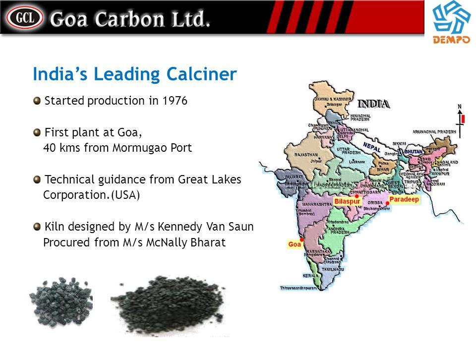 India's Leading Calciner