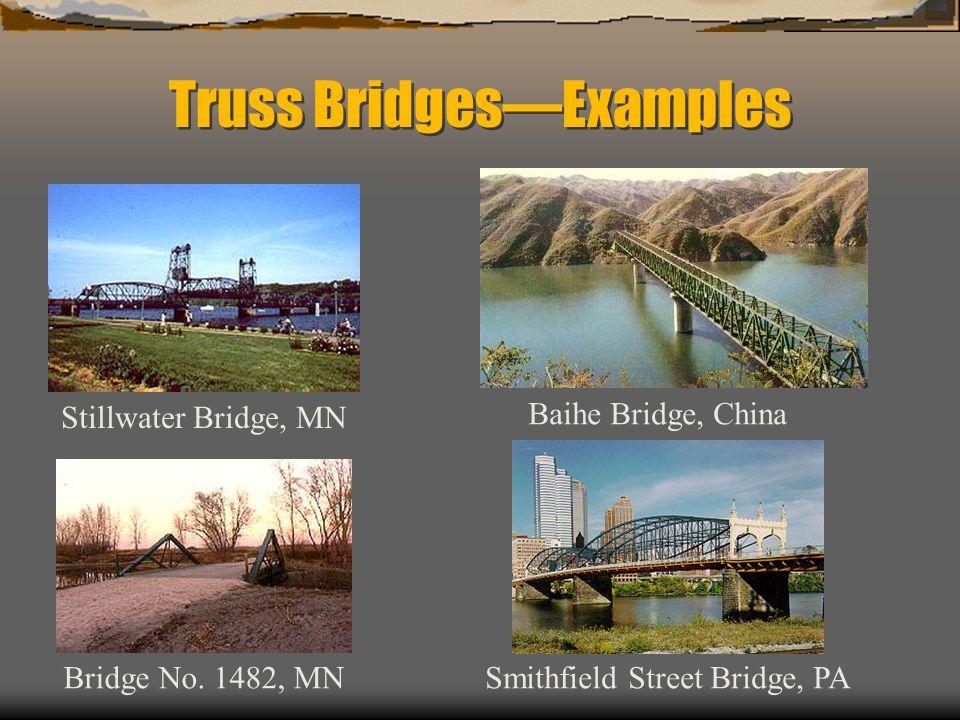 Truss Bridges—Examples