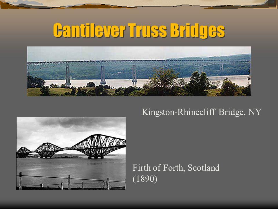 Cantilever Truss Bridges