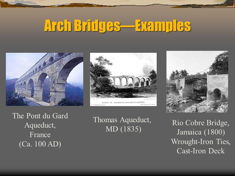 Arch Bridges—Examples
