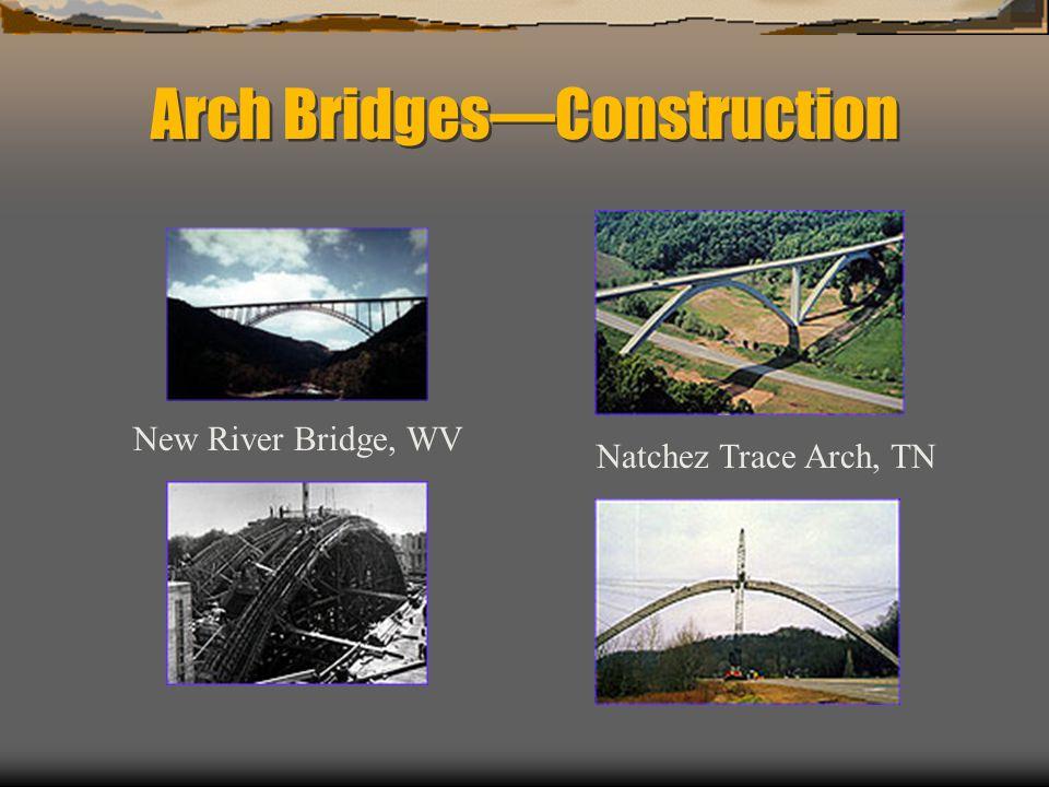 Arch Bridges—Construction