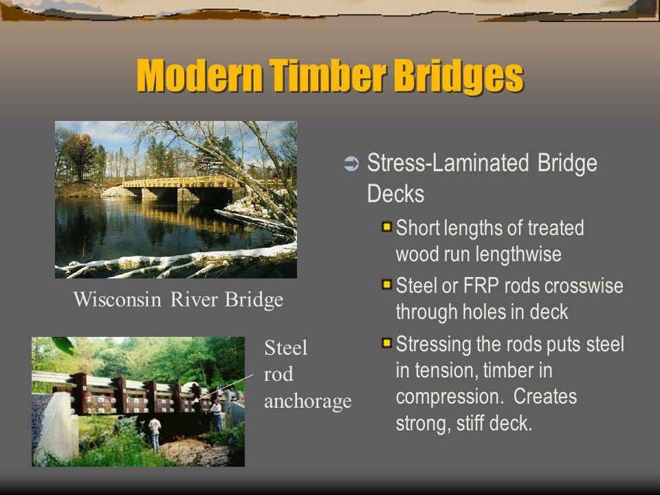 Modern Timber Bridges Stress-Laminated Bridge Decks