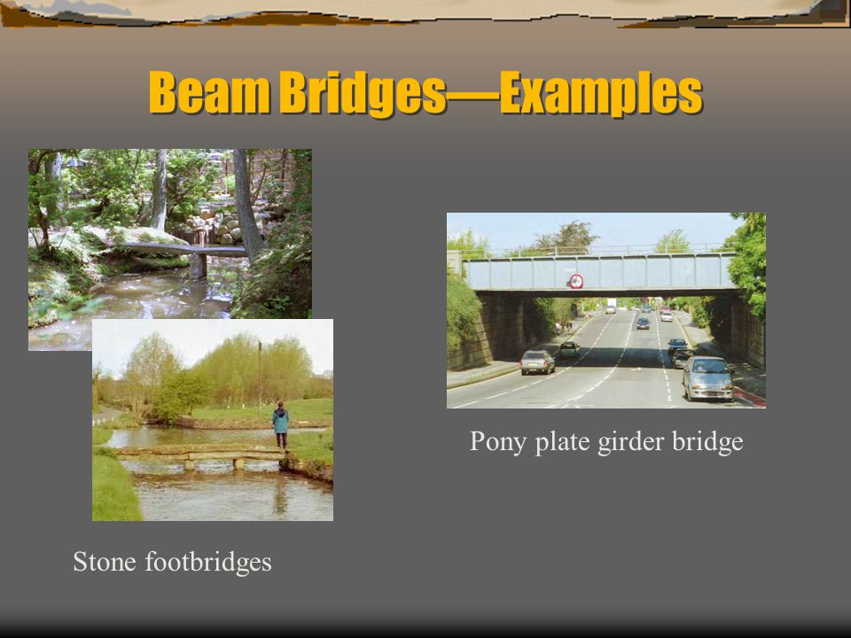Beam Bridges—Examples