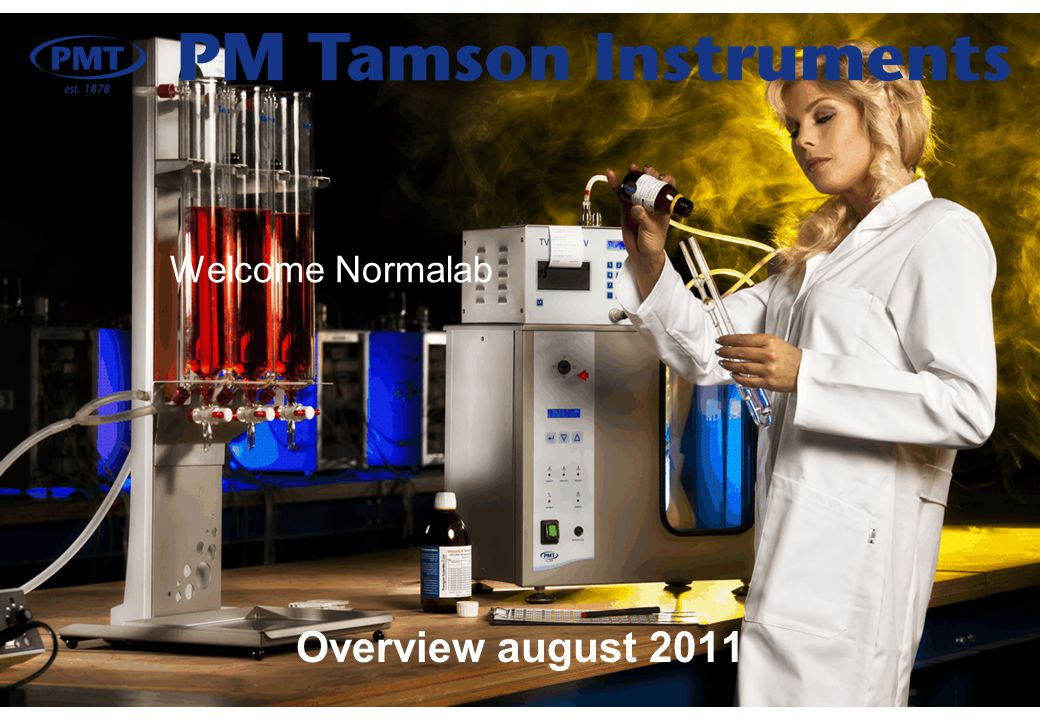 Welcome Normalab Overview august 2011