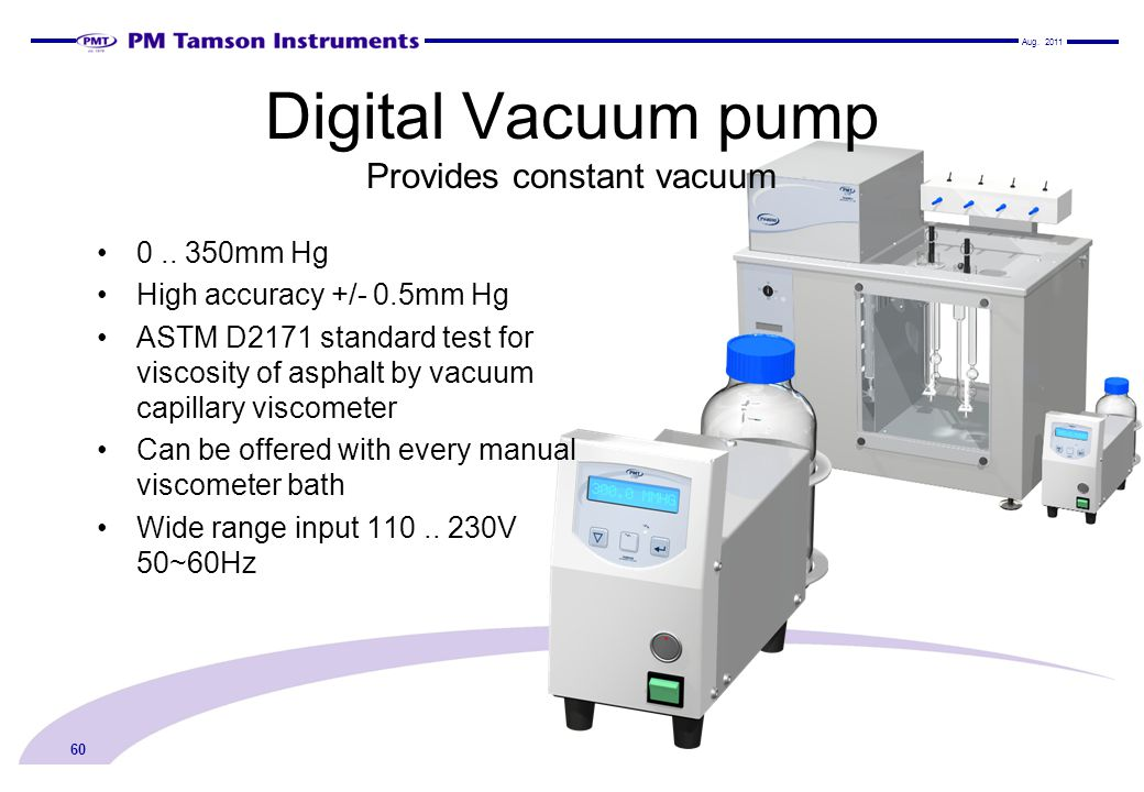 Digital Vacuum pump Provides constant vacuum