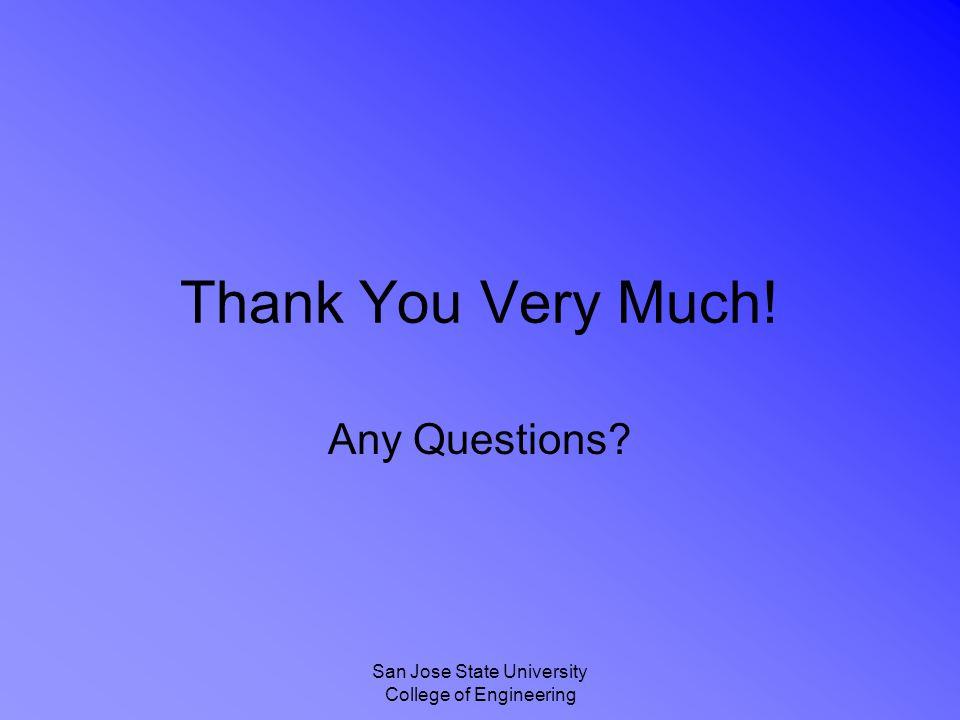 San Jose State University College of Engineering