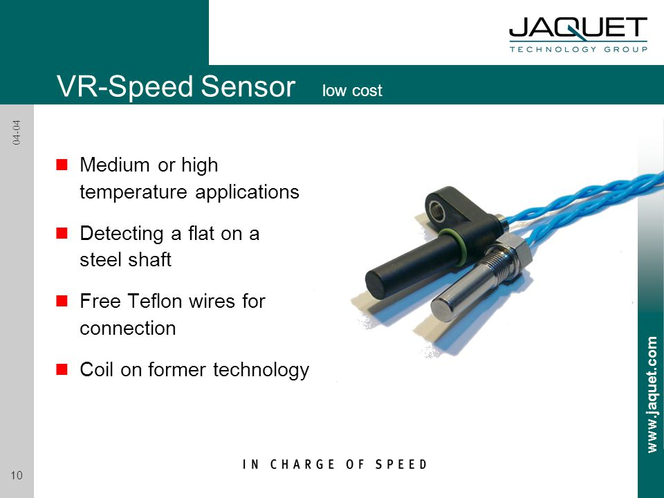 VR-Speed Sensor low cost