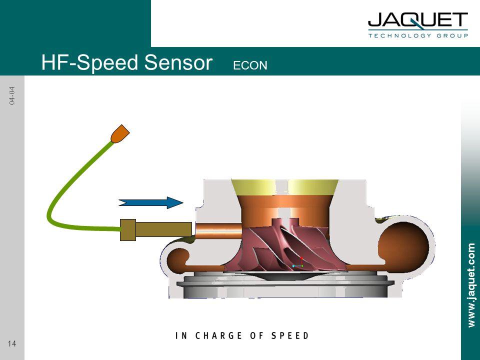 HF-Speed Sensor ECON 04-04
