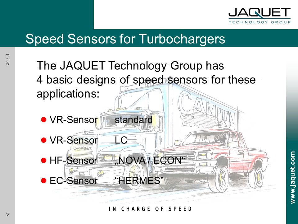 Speed Sensors for Turbochargers