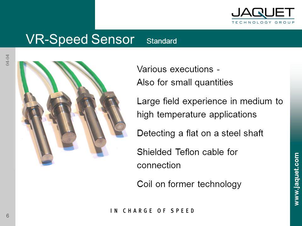 VR-Speed Sensor Standard