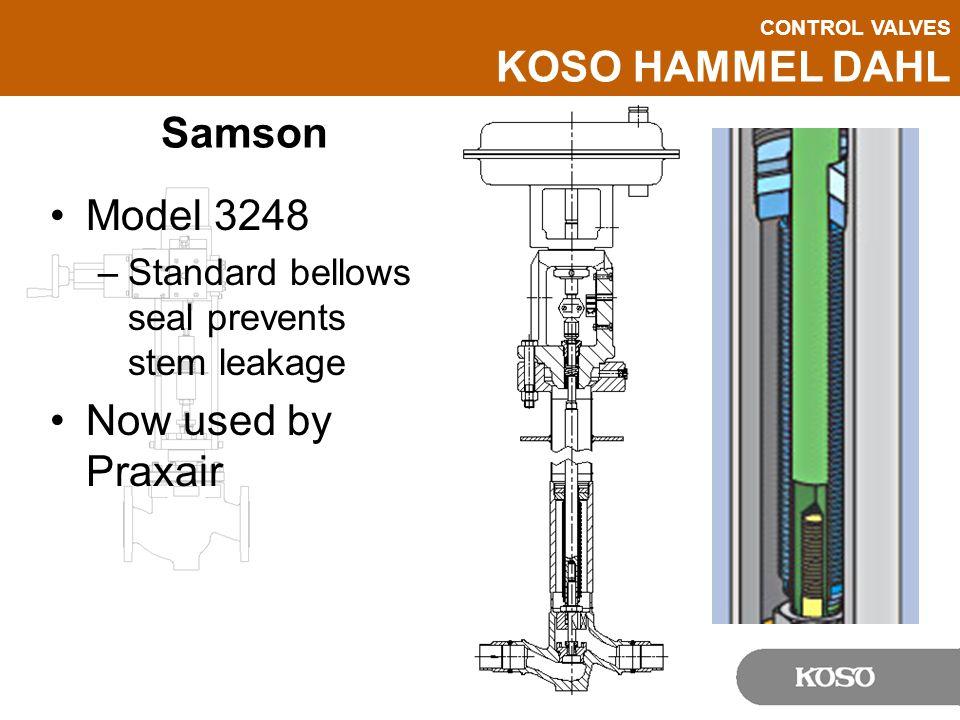 Samson Model 3248 Now used by Praxair