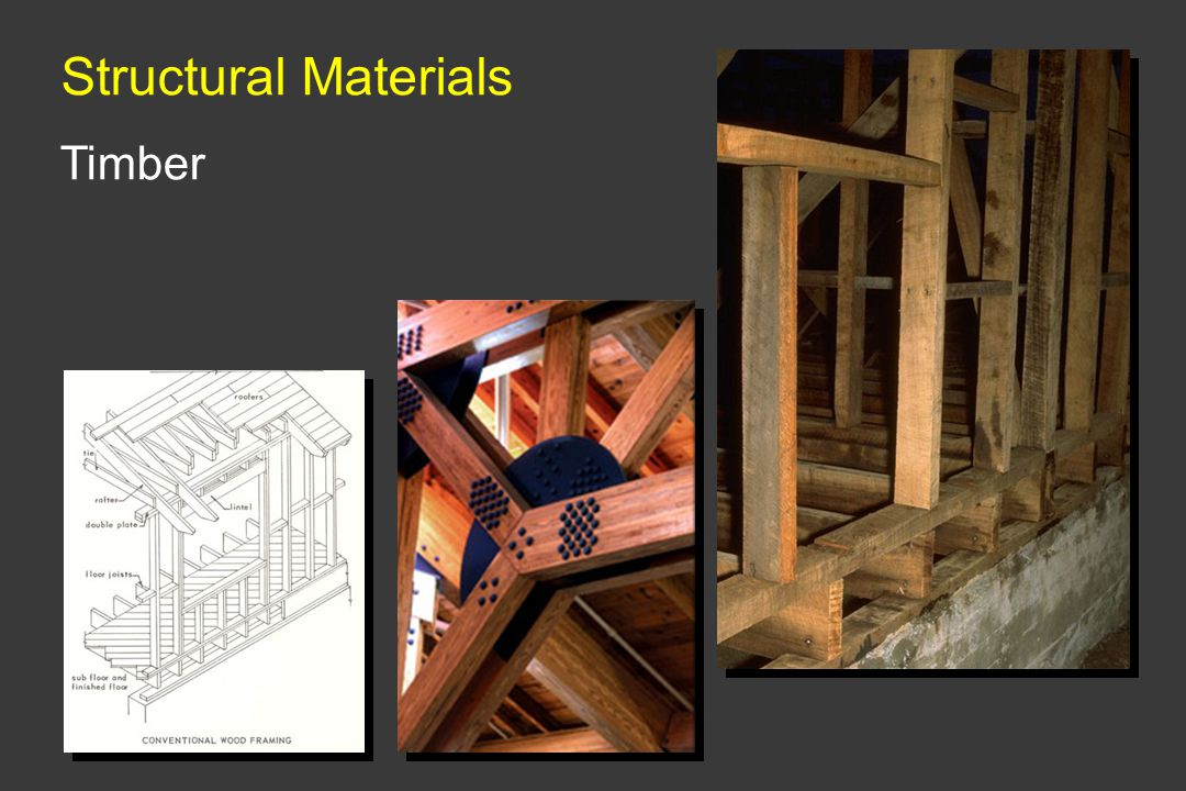 Structural Materials Timber