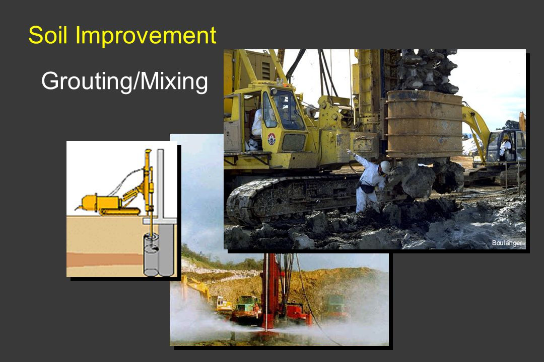 Soil Improvement Grouting/Mixing