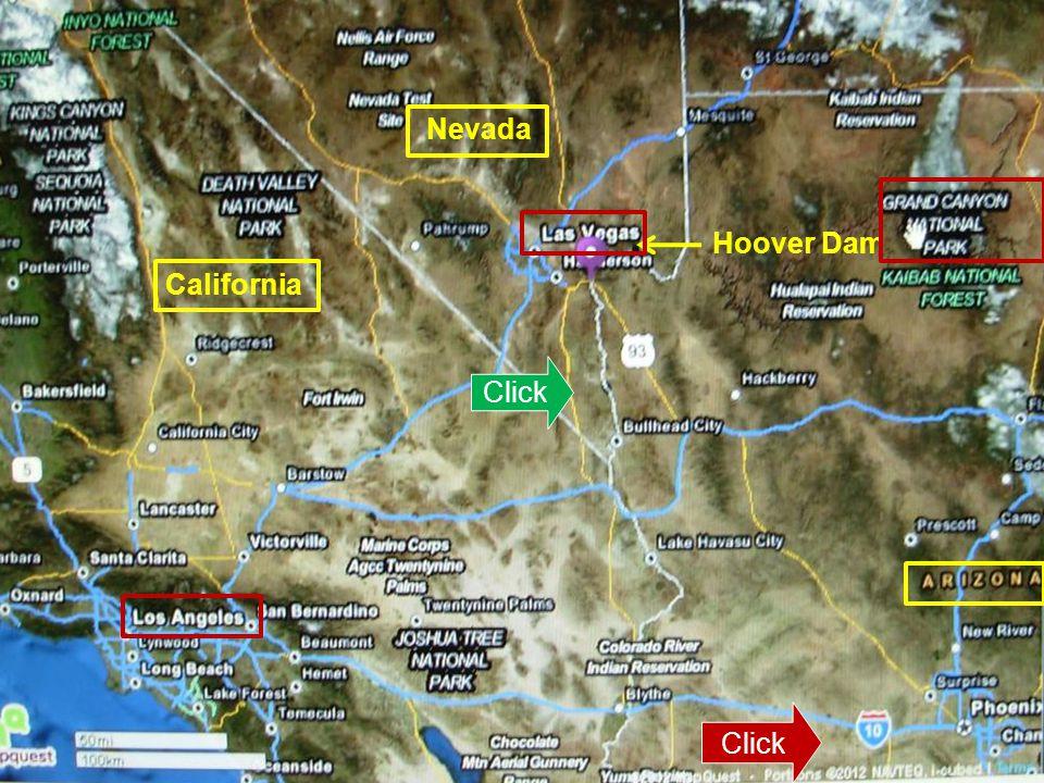 Nevada Hoover Dam California Click Picture Title Click