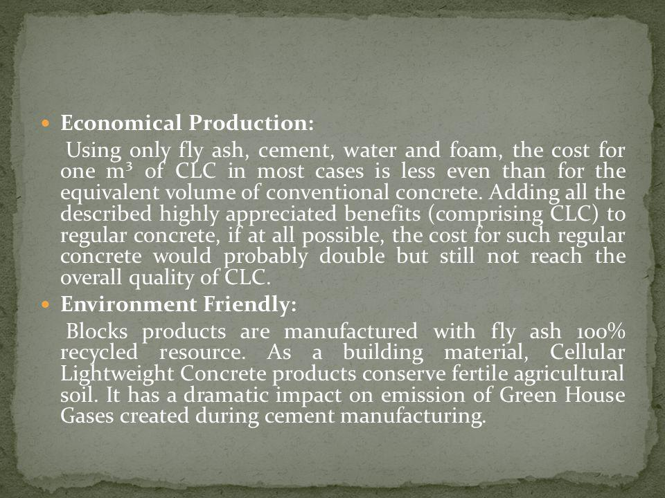 Economical Production: