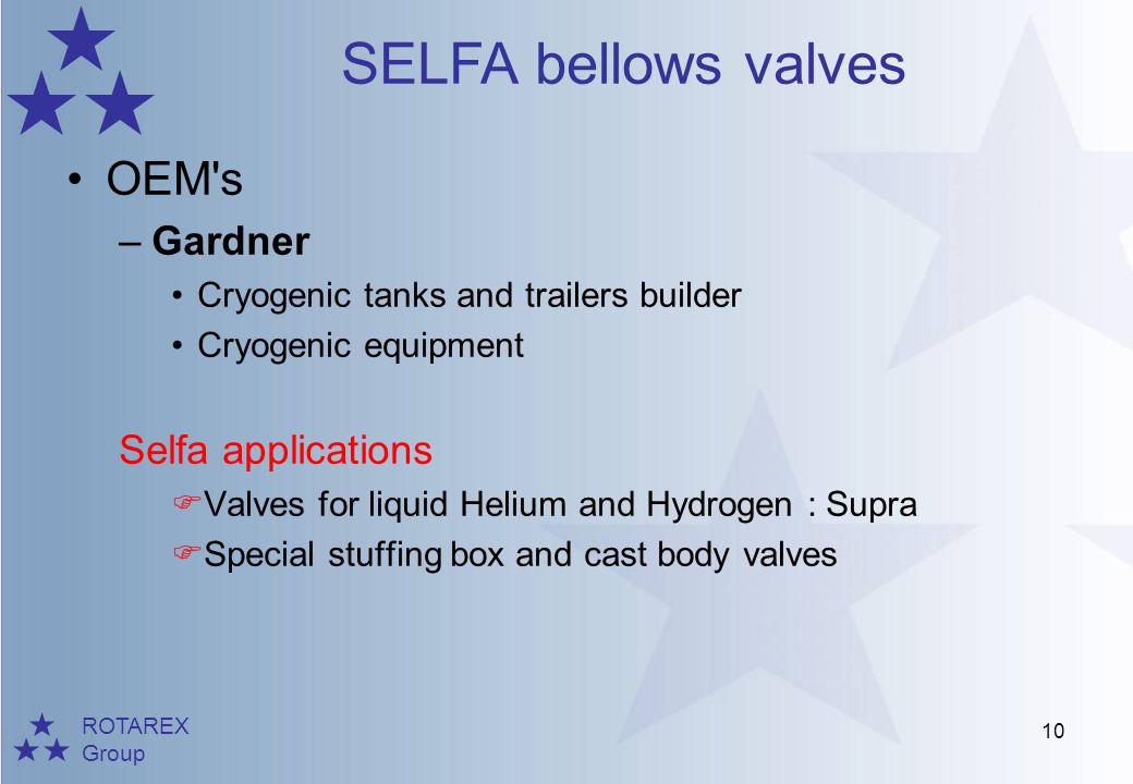 OEM s Gardner Selfa applications Cryogenic tanks and trailers builder