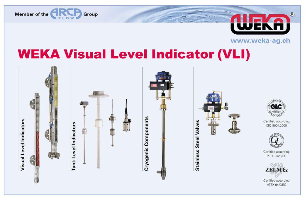 WEKA Visual Level Indicator (VLI)