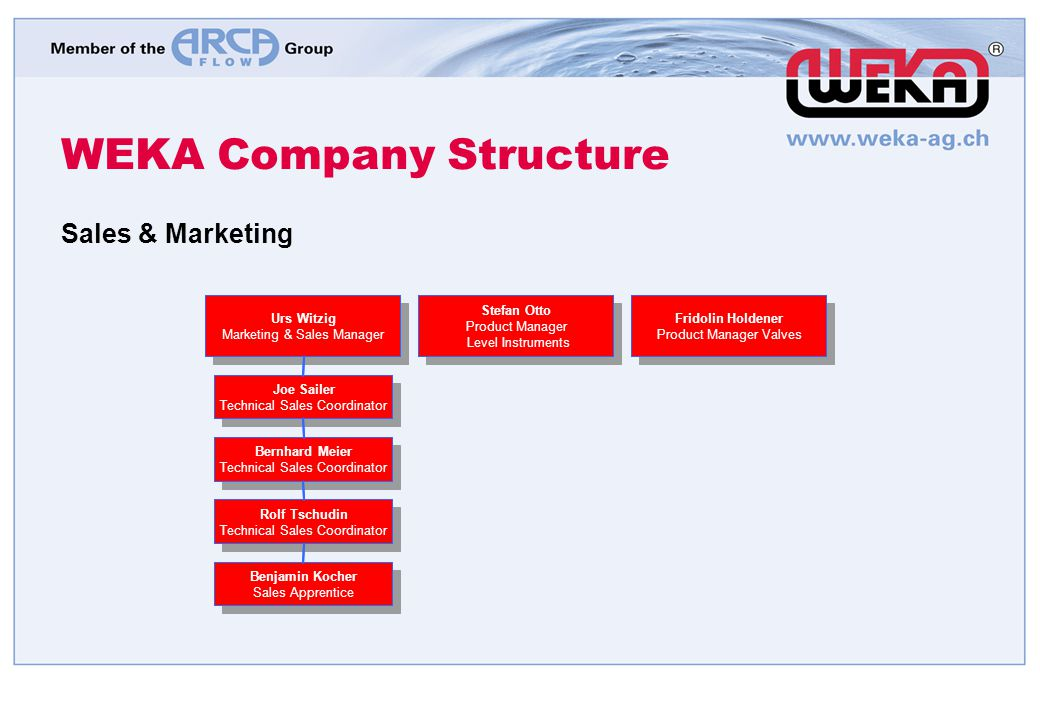 WEKA Company Structure