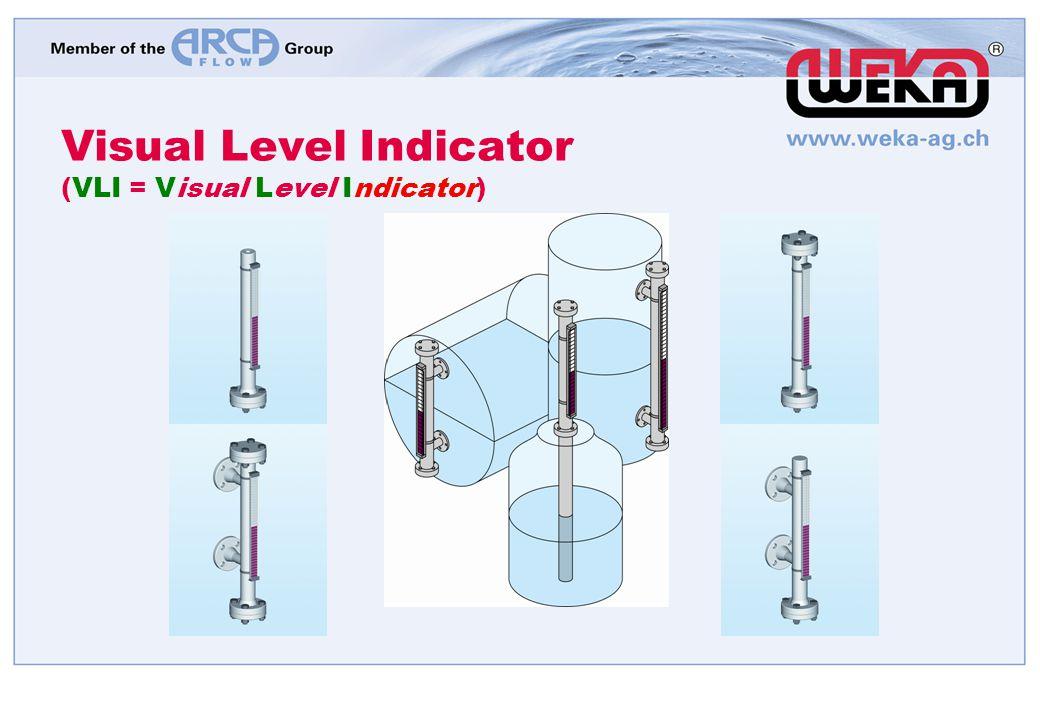 Visual Level Indicator (VLI = Visual Level Indicator)