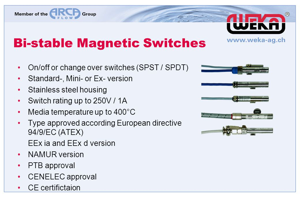 Bi-stable Magnetic Switches