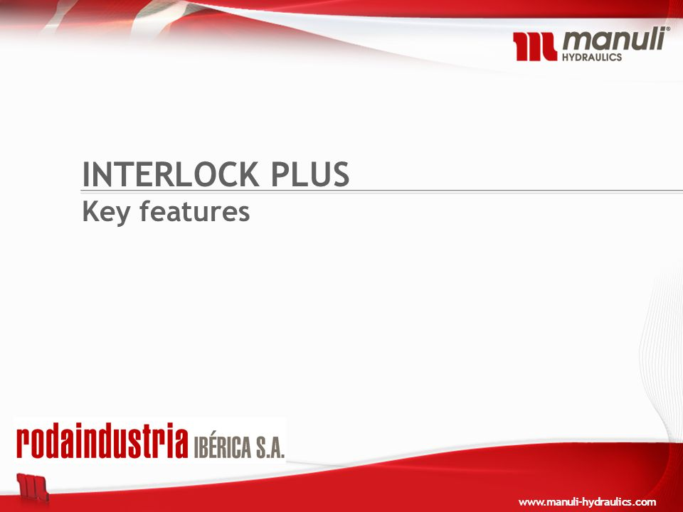 INTERLOCK PLUS Key features