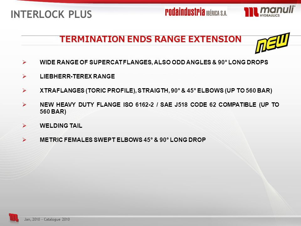 TERMINATION ENDS RANGE EXTENSION