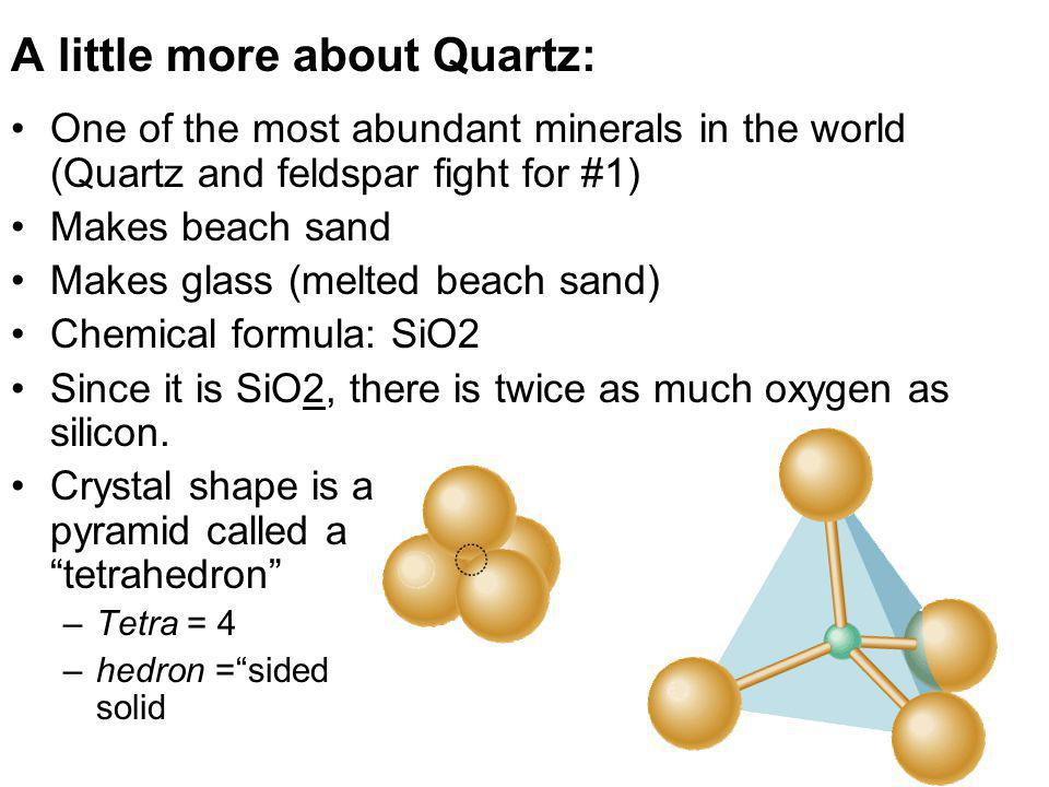 A little more about Quartz:
