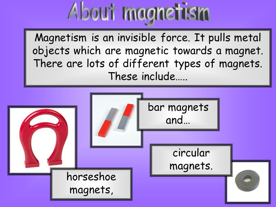 About magnetism
