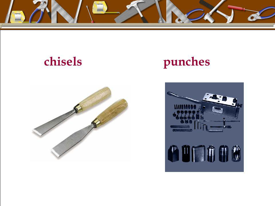 chisels punches