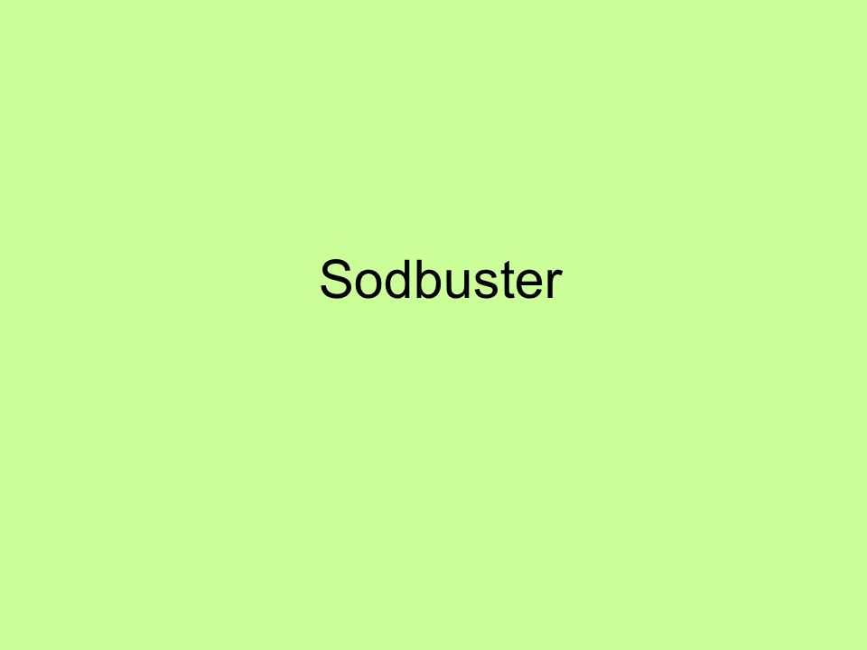 Sodbuster
