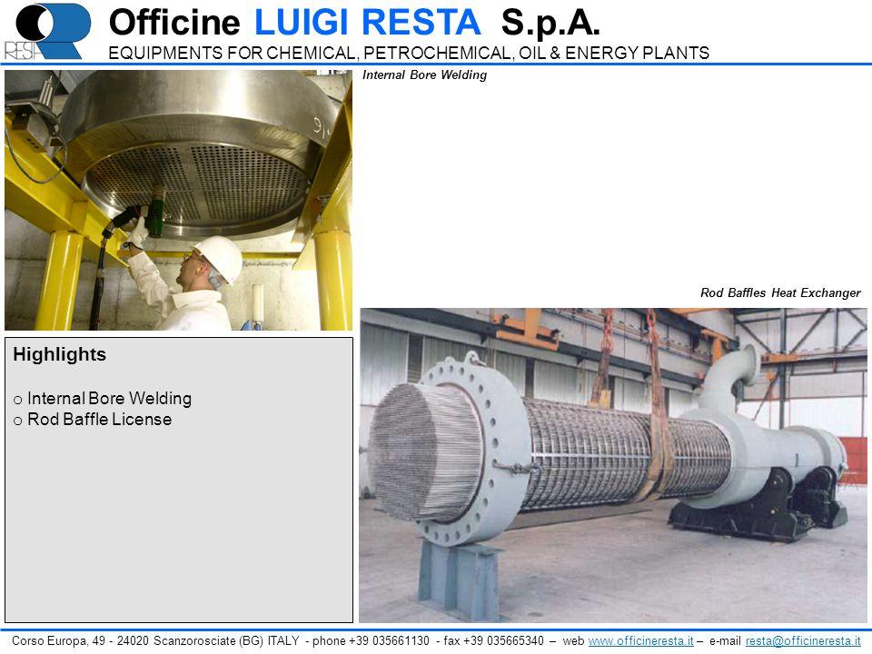 Officine LUIGI RESTA S.p.A.