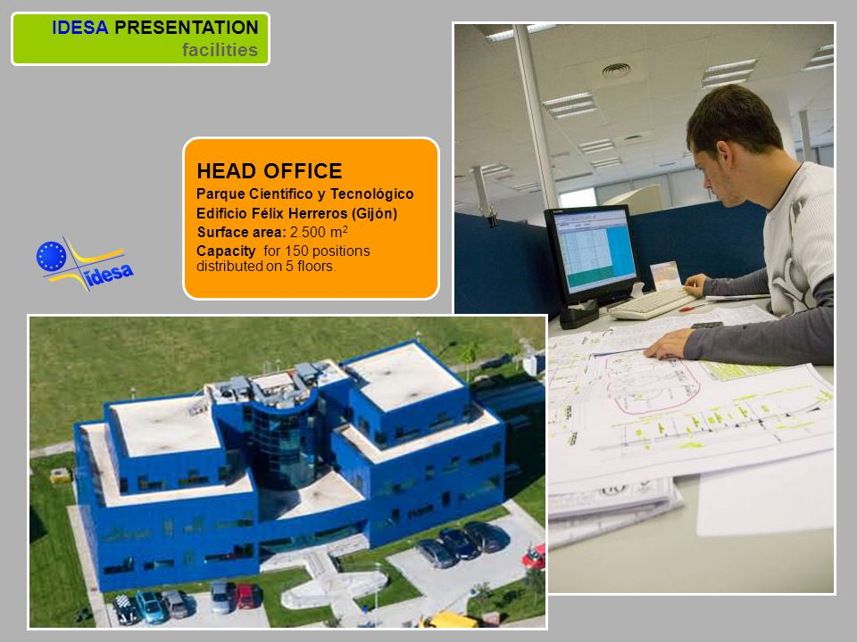 HEAD OFFICE IDESA PRESENTATION facilities