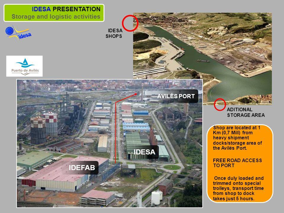 Avilés Port IDESA IDEFAB IDESA PRESENTATION