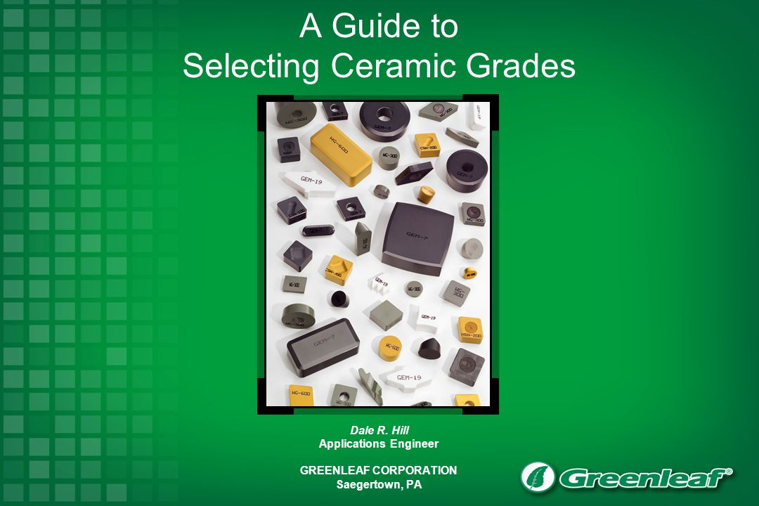 A Guide to Selecting Ceramic Grades