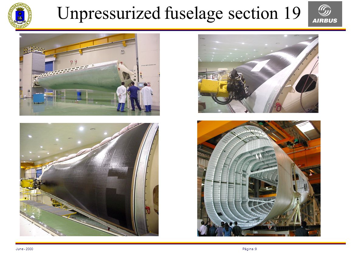 Unpressurized fuselage section 19