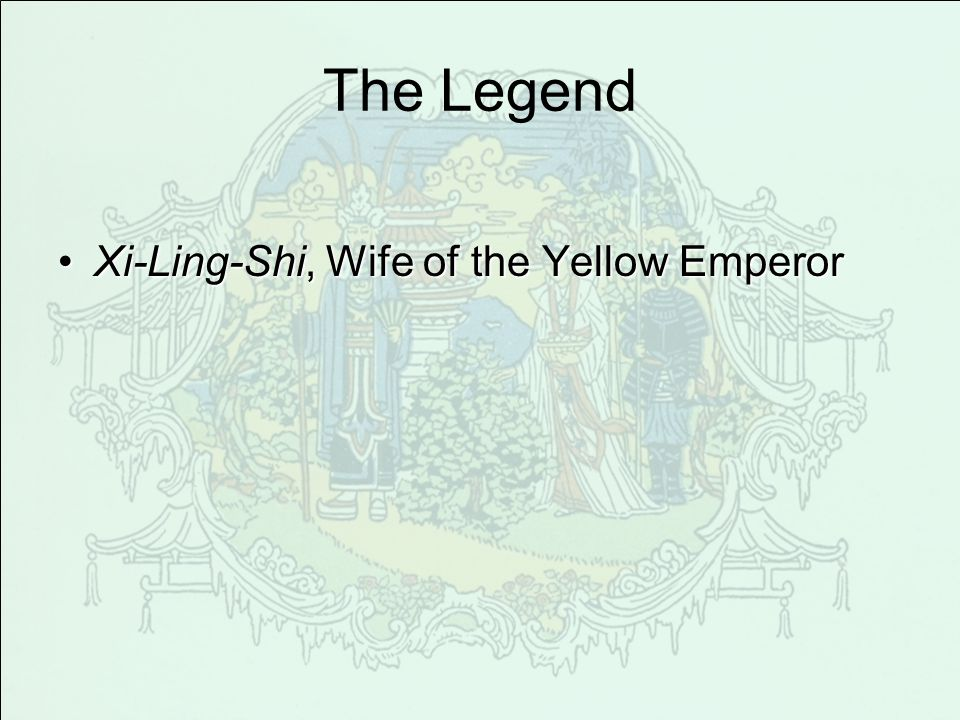The Legend Xi-Ling-Shi, Wife of the Yellow Emperor
