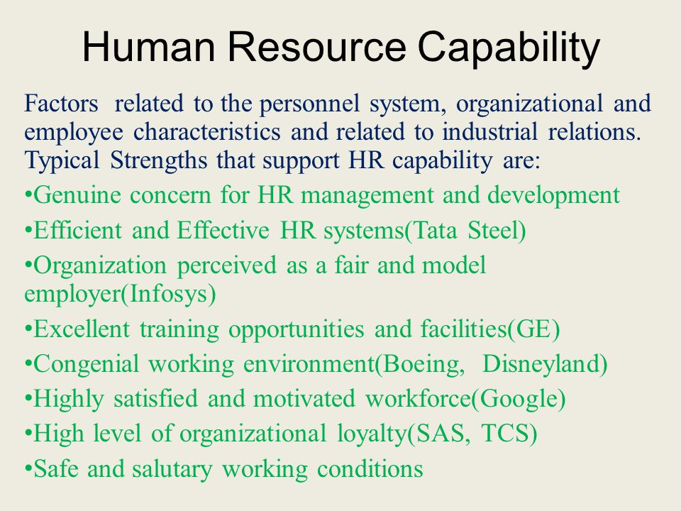 Organizational Capability Ppt Video Online Download