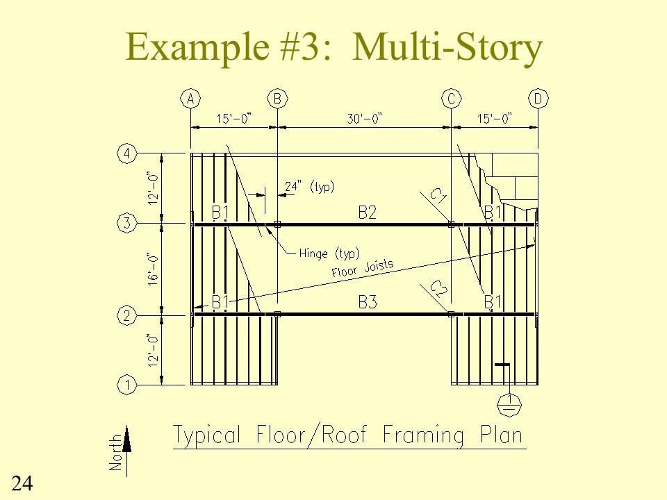 Example #3: Multi-Story