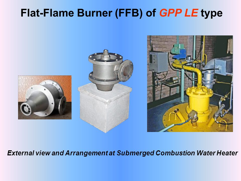 Flat-Flame Burner (FFB) of GPP LE type