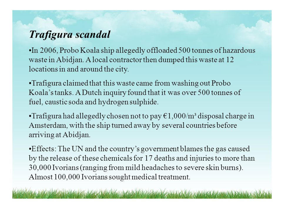 Trafigura scandal