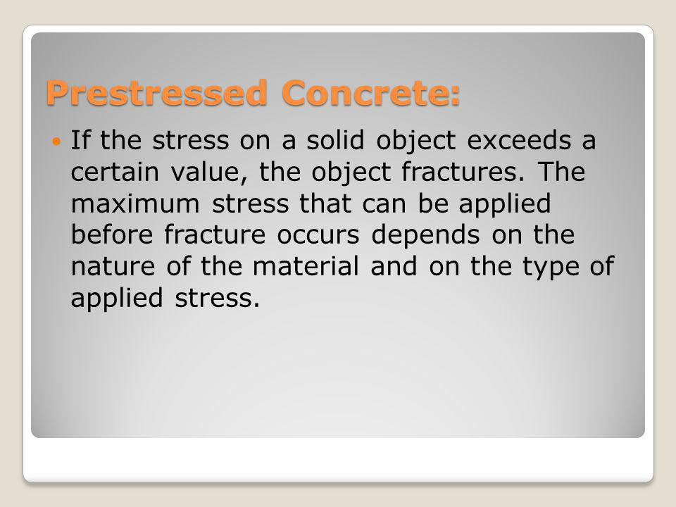 :Prestressed Concrete