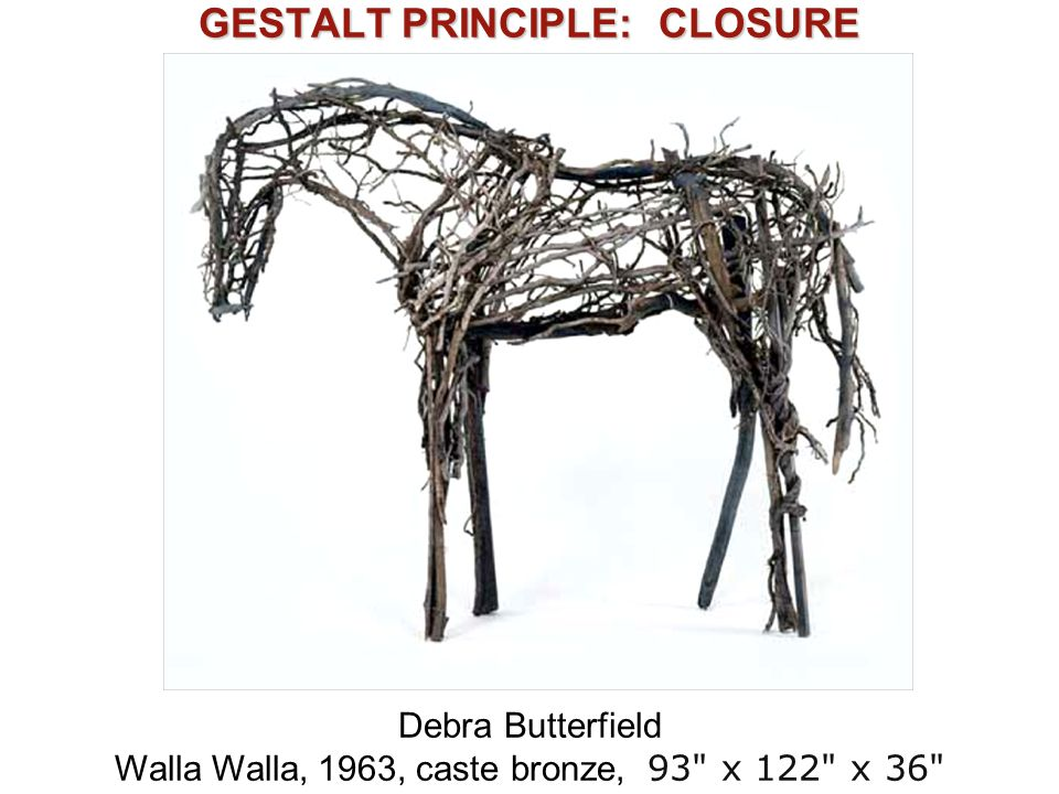 GESTALT PRINCIPLE: CLOSURE