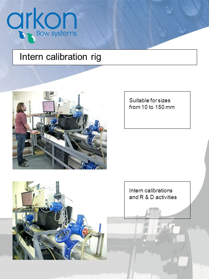 Intern calibration rig