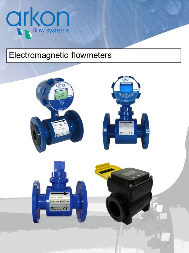 Electromagnetic flowmeters